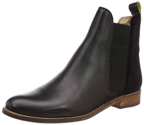 STBOURNE Chelsea Boots, Schwarz (Black Velvet), 40/41 EU (Viktorianische Stiefel)