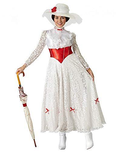 Musical Kostüm - Rubie 's Offizielles Mary Poppins Damen-Kostüm, Verkleidung aus dem Disney-Musical