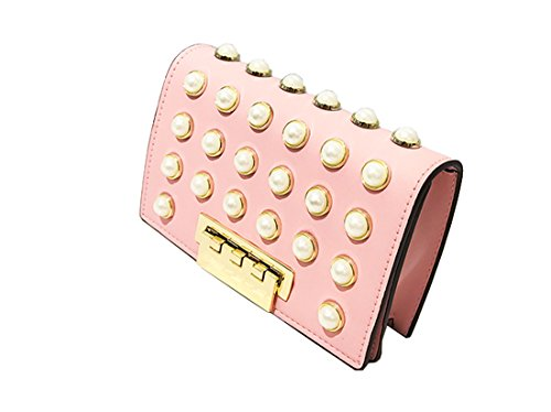 CHAGME, Borsa tote donna Pink