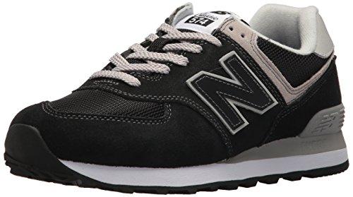 New Balance WL574EB, Zapatillas Mujer, Negro (Black), 38 EU