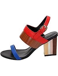 LOLA CRUZ - Sandalias de vestir para mujer rojo rojo
