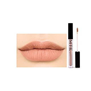 New Lip Gloss Lipstick Waterproof Long Lasting Not Fade Colour Glamorous Durable Fashion Liquid Non-Stick Cup Party Halloween Gift Cosmetics Matte Kit Color Nude Ladies Beauty Sexy Pen(05#)