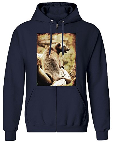 Tasmanischer Teufel - Tasmanian Devil Zipper Hoodie Jumper Pullover for Men 100{4b89adc99ee73ff8779cc5608b113d787a2e3d1cecb13c832dec74e77140598a} Soft Cotton Mens Clothing XX-Large