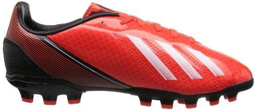 adidas F10 Traxion AG, Chaussures de football garçon Rouge - Rot (infrared / running white ftw / black 1)