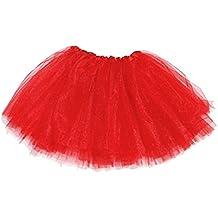 Falda tutú para adulto-Rojo