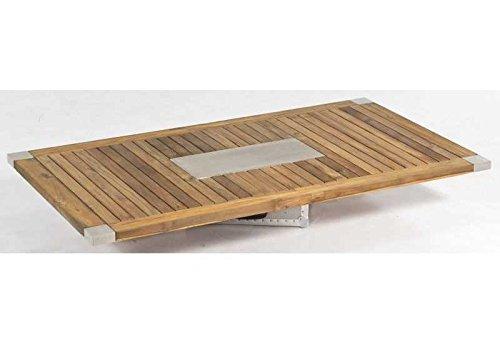 SonnenPartner Tischplatte Style Old Teak 160 x 90 made by Müsing Abmessungen: 160 x 90 cm Höhe Tischplatte: 30 mm Material Tischplatte: Old Teak Farbe: Old Teak Plattengewicht: 23 Kg Tischgestell: Ohne/ Nur Platte
