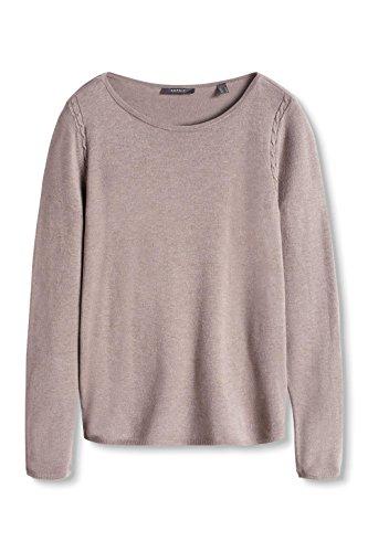 ESPRIT Collection Damen Pullover Braun (TAUPE 5 244)