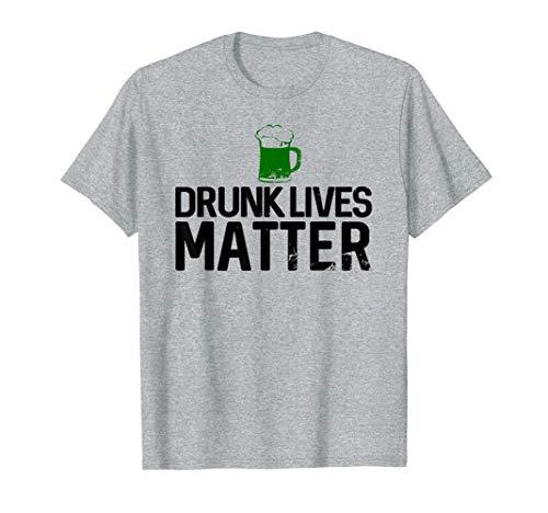 Betrunkene Leben Angelegenheit lustiger St Patrick Tag T-Shirt
