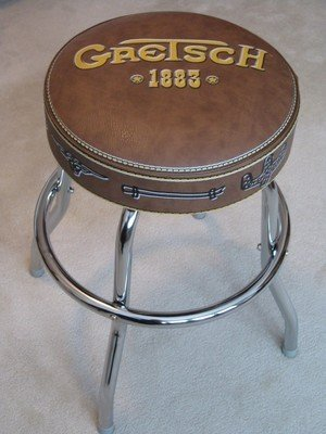 "Gretsch 1883 24"" Guitarist Barstool - cheap UK light store."