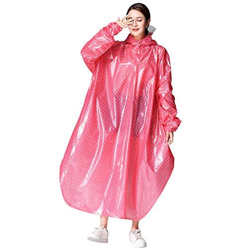 EP-Raincoat Multifunktionsregenmantel, Multifunktions-PVC-Dicker Poncho Outdoor Sports Erwachsene Wasserdichte Regenjacke Pvc-poncho