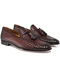 901ad8189b6 Amazon.fr   pompon - Marron   Chaussures homme   Chaussures ...