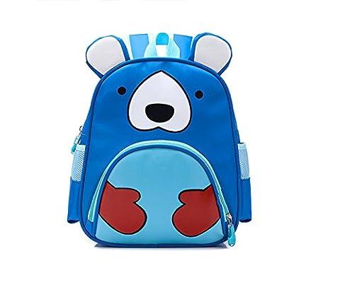 Dorapocket Child Cute 3D Cartoon Animal School Backpack Toddler Hiking Backpack,Blue