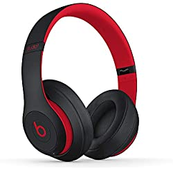 Casque Circum-Auriculaire sans Fil Studio3 de Beats - Collection Décennie de Beats - Noir-Rouge Défi