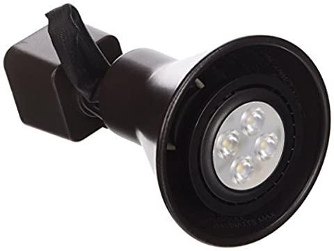 WAC Lighting HTK-103LED-DB H Series Line Voltage Track Head with LED Gu10 Bulb by WAC Lighting