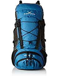 Black Crevice Columbia BCR3202 - Mochila (60 x 35 x 22 cm, 45 L), color azul