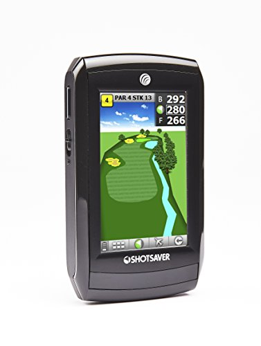 Shotsaver Tour Pro Revolution GPS Range Finder - Black