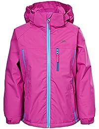 Trespass - Chaqueta / abrigo impermeable modelo Tomboy para niñas
