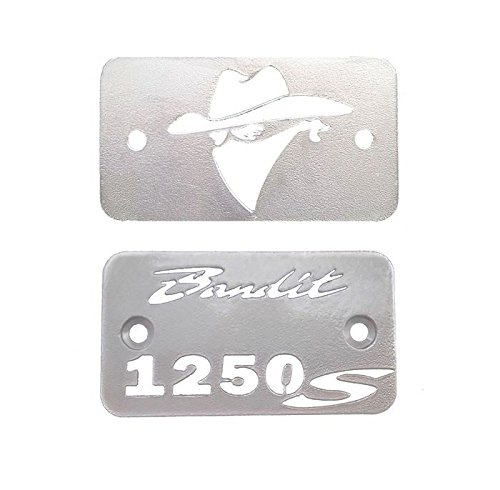Copri tappo vaschetta olio freno e frizione per Suzuki GSF1250 Bandit (2 pezzi)