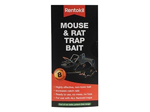 rentokil ftb01 souris et rat piège appât - Noir (24-piece)
