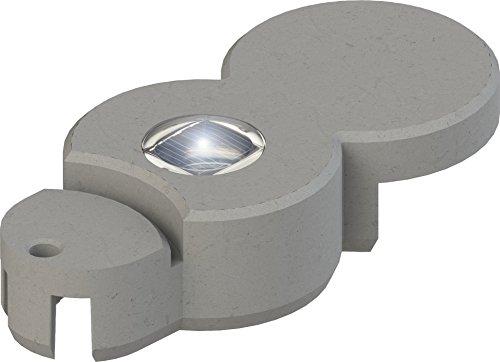 Bio-Rasenkante RKS-GRANITGRAU-LED-W Rasenkantensteine, 22 x 10 x 5,5 cm, granitgrau