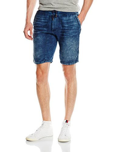 ONLY & SONS Herren Onsteik Shorts 3709 DK Blue PA, Blau (Dark Blue Denim), W31 Preisvergleich