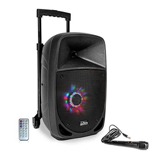 Party Light & Sound PARTY-8LED LED Tragbares Soundsystem -