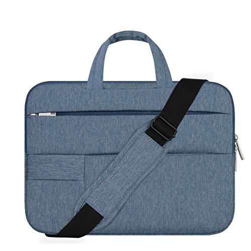 aptop-Tasche Notebook Pro Laptop-Umhängetasche wasserdichte Damen Herren Handtasche Navy Blue 14-inch ()