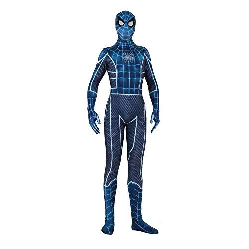werty Cosplay Kleidung PS4 Angst Kriegsführung Spiderman Cosplay Lycra Siamesische Strumpfhose 3D Digitaldruck Enge Weihnachten Halloween Kostüm Für Erwachsene/Kinder Tragen Adult-XL