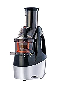 Usha Nutripress (362F) 240-Watt Cold Press Slow Juicer (Black and Brush Steel Finish)
