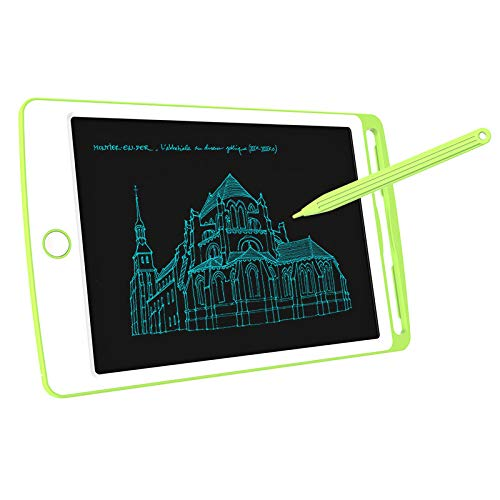 annsr Digital Drawing Pad 8.5 Inch LCD Writing Tablet Doodle Board Papierlos Notepad,EIN Knopf Frei,für Kids Office Family,Green