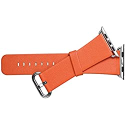 iwatch P421 Leather Strap Orange
