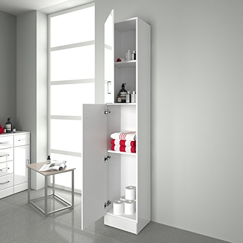 bathroom furniture cabinets floor cabinets tall gloss white bathroom