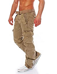 Geographical Norway Phill Polish Herren Lange Cargo Hose Freizeit Outdoor  Army Trousers Cargohose 3503141f51