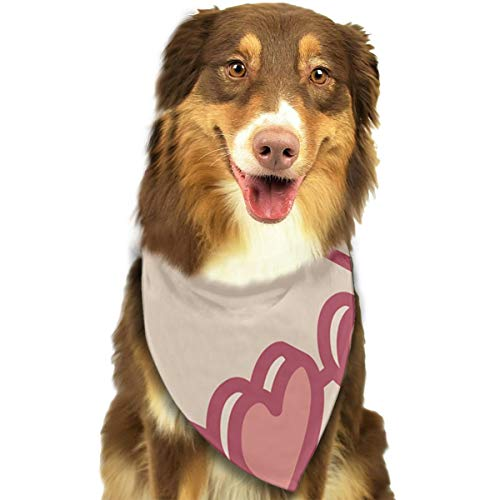 Sitear Love Sunglasses Bandana für Hunde und Katzen, dreieckig, geeignet für kleine bis große Hunde und Katzen