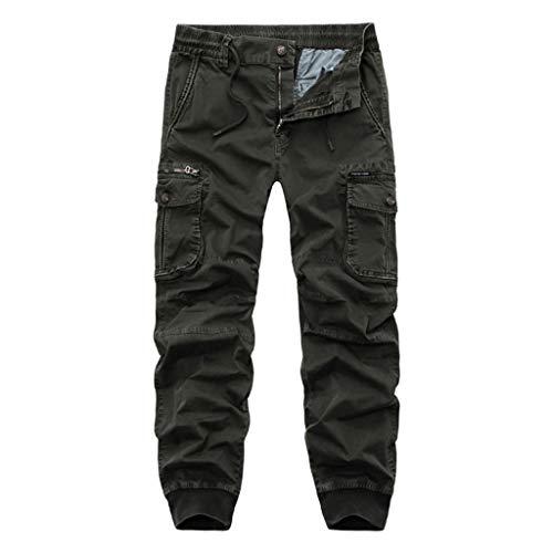 Pantaloni da Lavoro da Uomo Pantaloni da Lavoro da Combattimento Pantaloni Militari da Esterno per Escursioni A Piedi