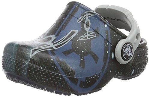 Crocs fun lab star wars k, sabot bambino, blu (navy), 24/25 eu