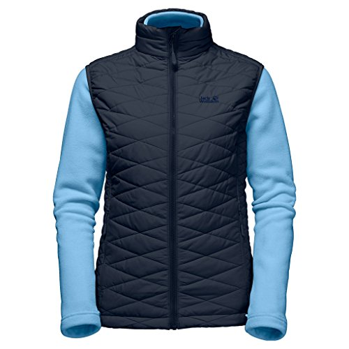 Jack Wolfskin Glendale Fleece with Womens Body Warmer Night Blue
