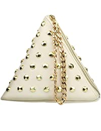 Blingg Golden Rivets Pyramid Sling Bag Gift For Women's & Girl's/Fashionable Sling Bag For Women/Women Stylish...