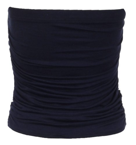 Unbekannt - Canotta -  donna Blu - blu marino