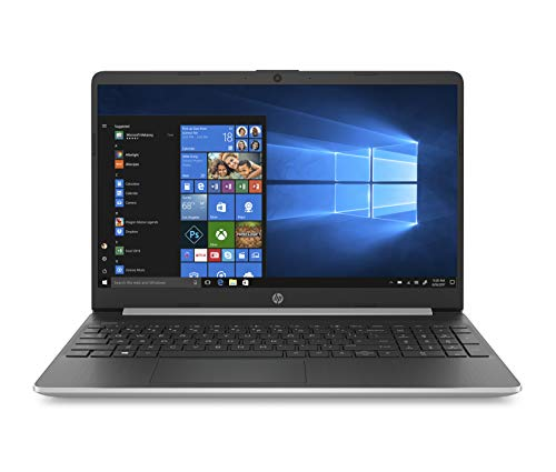 HP 15s-fq1021ns  -Ordenador Portátil 15.6' HD (InteL Core i5-1035G1, 8GB RAM, 512GB SSD, Intel Graphics, Windows 10), Color Plata - Teclado QWERTY Español