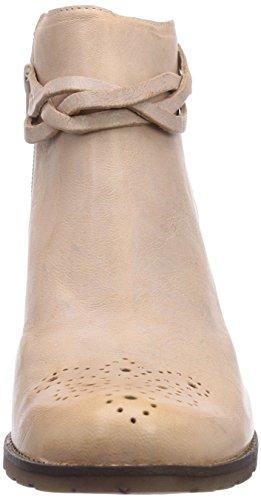 DKode Barak Damen Kurzschaft Stiefel Weiß (Off White 010)