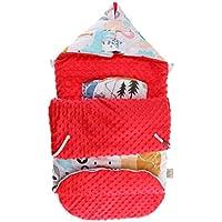 Baoblaze Mantas Envolventes con Capucha Sábanas para Sacos de Dormir para Sostener Caliente - A