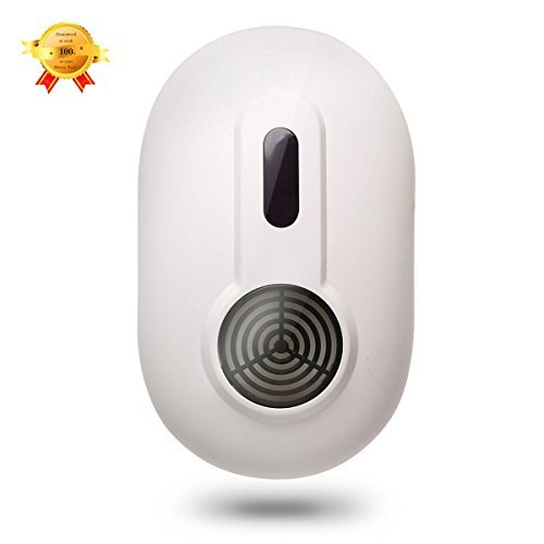 Ultrasonic Pest Control Repeller - Cozy Life Indoor Electronic Pest, Insect & Rodent Control Repeller/Repellent Device - Eliminate All Types of Insects and Rodents(UK Plug,Simply Plug In)