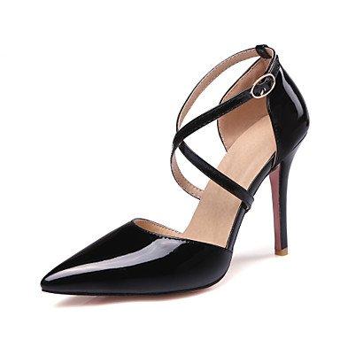 LvYuan Da donna-Sandali-Matrimonio Formale Serata e festa-Club Shoes-A stiletto-Vernice-Nero Giallo Rosa Bianco Beige Black
