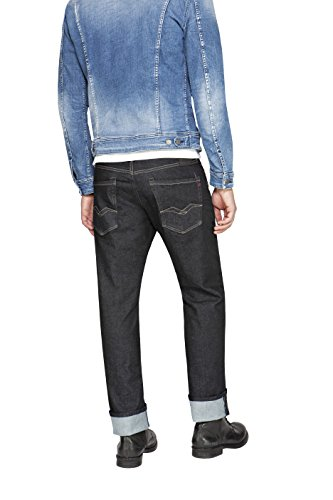 Replay Herren Jeanshose Waitom Blau (Blue Denim 7)
