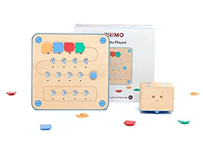 Primo Toys Cubetto Playset | Screenless Coding Toy for Children Aged 3-6