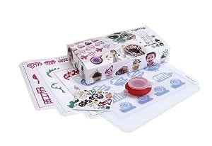 Lékué 3000016SUR Kids Kit de Décoration Plastique/Silicone Multicolore 45 x 35 x 25 cm