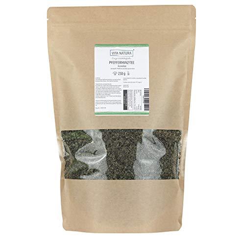 Vita Natura Pfefferminz-Tee, loser Arzneitee, Bio, 1er Pack (1 x 250 g) (Lose-blatt Film Der)