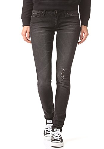Jeans Slim Throwback Black CHEAP MONDAY 29 32 Donna