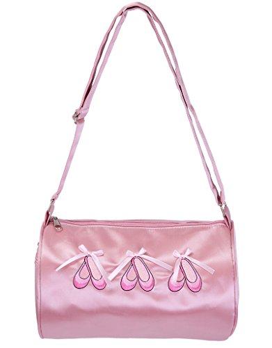 meeyou Mädchen Ballerina Dance Duffle Bag, Mädchen, 024 Ballerina Duffle Bag